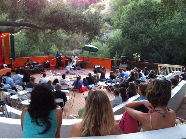 1347067619906 Concert2  Topanga wedding venue