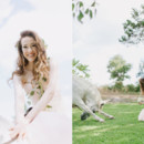 130x130 sq 1427067184175 c romantic texas wedding with a pink wedding dress