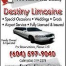 130x130 sq 1387351127192 destiny limo vancouve