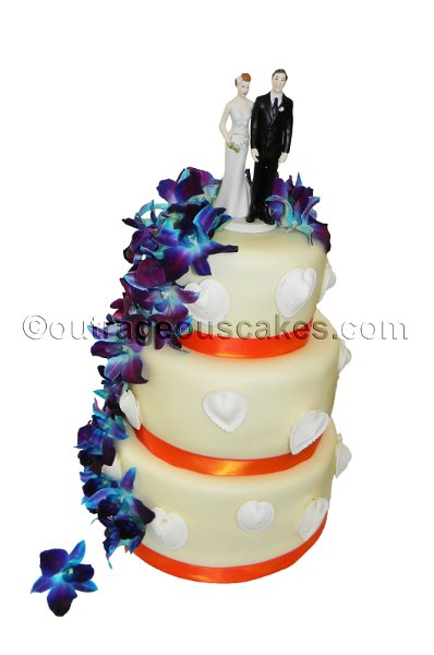 outrageous cakes tampa fl wedding cake. Black Bedroom Furniture Sets. Home Design Ideas