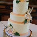 130x130 sq 1472666226729 peach and green wedding cake