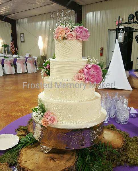 wedding cake makers in houston texas frosted memory maker houston tx wedding cake 23162