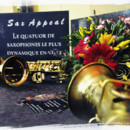 130x130 sq 1367591860409 sax appeal. picture by e2m photo
