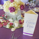 130x130 sq 1431554341471 white and purple centerpieces 2