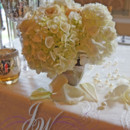 130x130 sq 1431554410973 white hydrangeas and roses centerpieces  img 00028