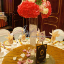 130x130 sq 1431624754596 spary pink hydrangeas with roses centerpieces