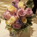 130x130 sq 1431629441645 vintage roses and dusty miller bouquet 4