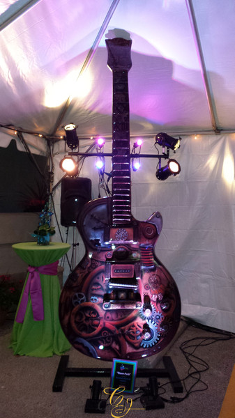 Classic Patina. Polymer veneer on Waukesha Guitar Town