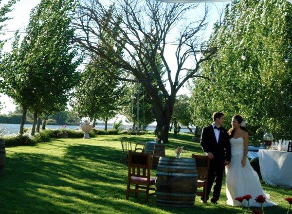 Little venice island photos ceremony reception venue for Wedding venues stockton ca