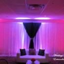 130x130 sq 1432862900384 backdrop with pink lighting
