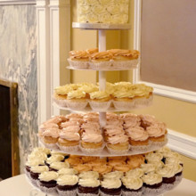 220x220 sq 1481306053217 rosette cupcake tower