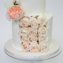 220x220 sq 1481306401168 rose slice petite wedding cake