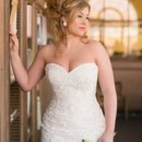 130x130 sq 1389484163966 jacklynn bridal dress shoot  lacey strapless dress