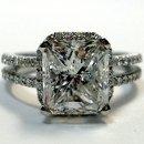 130x130 sq 1338909551549 antiquedoubleshankengagementringcushioncutdiamond