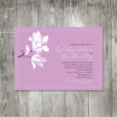 130x130 sq 1416343483969 magnoliaweddinginvitationlavender