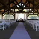 130x130 sq 1480636277520 tulle draped on chairs down aisle