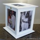 130x130 sq 1284392970595 weddingcardbox8x10white2