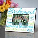 130x130 sq 1299011666031 personalizedsomethingbluebridesmaidpictureframe