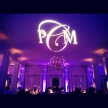 220x220 sq 1369282754575 monogram  purple up lighting  the state room