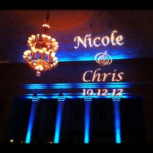 220x220 sq 1369282764282 monogram light  tiffany blue up lighting  the hall of springs