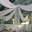130x130 sq 1369845033229 ceiling draping