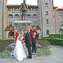 130x130 sq 1324410587462 weddingoutside