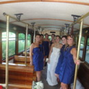 130x130 sq 1382544685465 trolley with devaney bride and bridesmaids