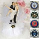 130x130 sq 1327022879628 armyweddingcaketoppers