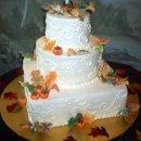 130x130 sq 1224171552477 weddingcake1 autumn