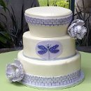 130x130 sq 1344737378437 weddingdragonflycake