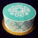 130x130 sq 1371002833175 stencilled cake