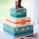 130x130 sq 1449936988423 wedding cake for yost with boots