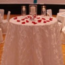 130x130 sq 1405207444543 unity candle table pintuck white ceremony wedding