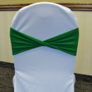 130x130 sq 1405207968877 emerald kelly green spandex chair band twisted whi