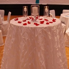 220x220 sq 1405207444543 unity candle table pintuck white ceremony wedding