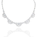 18K Sophia Diamond Necklace <br /> Regal and intricate with almost 7 carats of diamonds, Haute Vault&#39;s couture necklace epitomizes feminine elegance. This fit-for-a-queen, necklace will have you &quot;I do&quot; ready and perfectly poised for sparkling photos.
