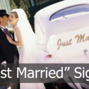 130x130 sq 1370482035450 just married signs