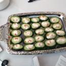 130x130 sq 1394487578449 600x6001394397935654 lump crab mousse on cucumber