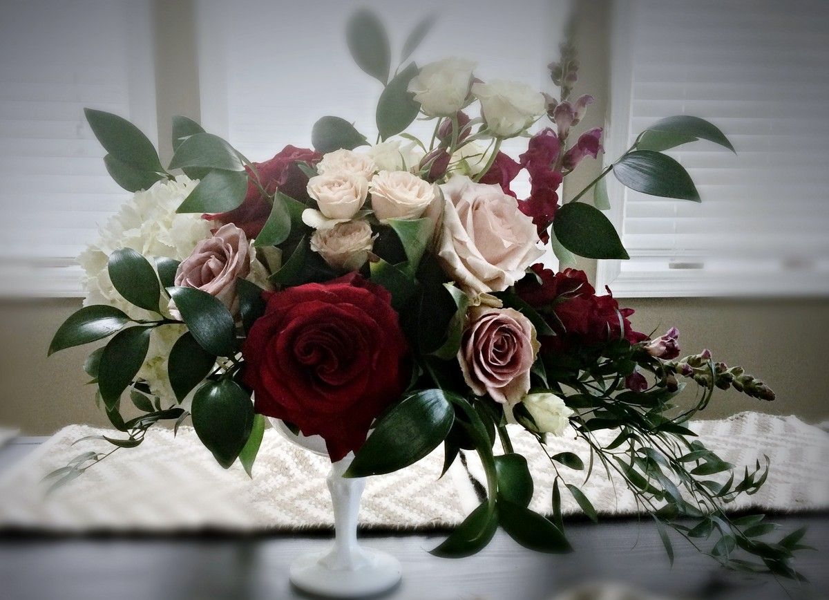 Photos Burgundy Wedding Flowers Pictures Page 12