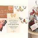 "Invitation from the ""Love is a Flutter"" Collection >>See more: http://onehandspunday.com/shop/products/Love-is-aFlutter-