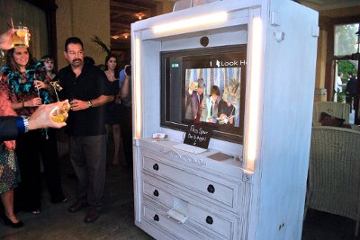 Vintage Photo Booth by Vintage Vault