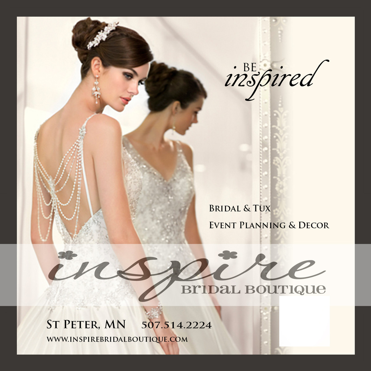 Inspire Bridal Boutique - Dress & Attire - Saint Peter, MN - WeddingWire
