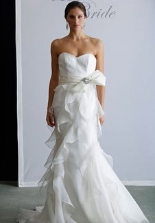 1351392477341 BadgleyMischkafifi  wedding dress
