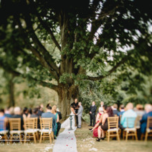 220x220 sq 1483123786287 chimney hill inn wedding niki and mike ceremony50
