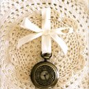Pocket Watch Boutonniere *custom color ribbons available*