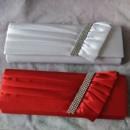 130x130 sq 1418151381731 w slanted crystals bridesmaids evening handbag pur