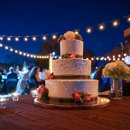 130x130 sq 1363154783106 outdoorfestoonlightingweddingcake