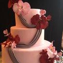 130x130 sq 1352760201150 orchidanddrapeweddingcake2