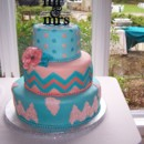 130x130 sq 1431720916433 chevron cake