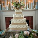 Venue, Floral Design, and Event Planning: Cedarwood  Caterer: A Dream Come True Catering  Bride's Gown: Olia Zavozina  Hair and Makeup: Lorena Lopez  Cake: Patty Cakes  Stationery: Designs in Paper